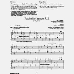 U2 PACHELBEL MEETS PDF