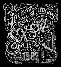 SXSW 2014 Chalkboard on Behance