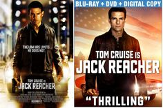 So JACK REACHER goes from this slick theatrical poster to 'Murica box art, eh?