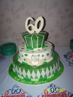 1000 Images About Themed Cakes On Pinterest 80th