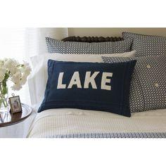 Found it at Wayfair - Lake Linen Lumbar Pillow