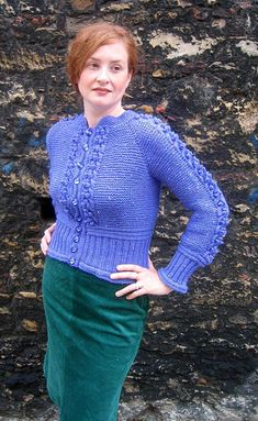 Free Knitting Pattern - Women's Sweaters: Forecast Sweater