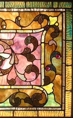 antique stained glass windows | Antique American Stained Glass Windows