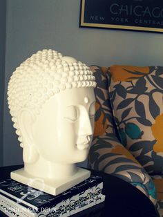 I chose this image because I love Buddha's. I love this one in particular because it is all one solid creamy colour. I love the different textures and how calm and peaceful you feel when a buddha is placed in a room.