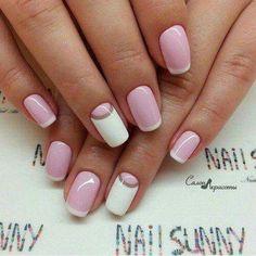Bride maid nails