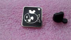 pin broche disney WDW - Mickey caché Pin Series III - Poisson Avec Souris Oreilles