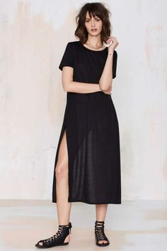 Cross Out Maxi Tee | Shop Clothes at Nasty Gal!