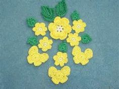 crochet flowers and leaves - Avast Yahoo Image Search results