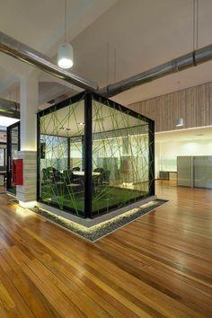 la salle de réunion avec design intéressant par Autogasco