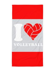 I love volleyball – Beach Blanket Volleyball Store, Beach Blanket, My Love, Beach Towel