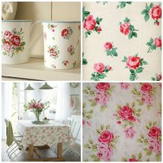 cath kidston Pink roses, nothing prettier in the world!