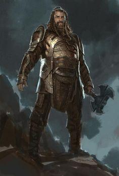 Thor: The Dark World- Volstagg by andyparkart