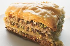 Find the recipe for Walnut and Pistachio Baklava and other pistachio recipes at Epicurious.com