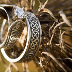 Beautiful Celtic Wedding Bands