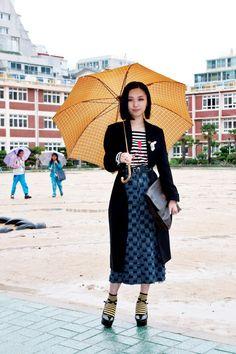 110424-Umbrella-Girl-Busan-Korea