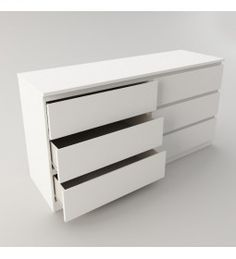 UrbanSales offers a wide range of well-designed & affordable bed frames, mattresses, wardrobes, & storage solutions. Largest IKEA NZ supplier · Shop Now! Malm Drawers, Ikea Chest Of Drawers, White Drawers, 6 Drawer Chest, Affordable Bed Frames, Affordable Bedding, Ikea Bedroom Sets, White Bedroom, Ikea Furniture