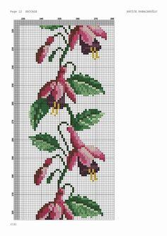 Cross Stitch Borders, Cross Stitch Alphabet, Cross Stitch Flowers, Cross Stitch Designs, Cross Stitch Patterns, Butterfly Embroidery, Learn Embroidery, Beaded Embroidery, Hand Embroidery