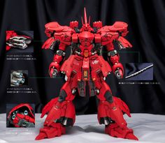 SMS 1/100 MSN-04S SAZABI Improved work by Infinite Dimension Gunjap
