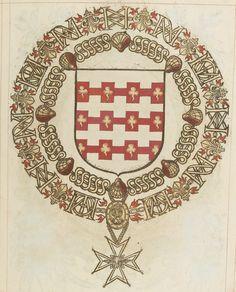Tout sur l'héraldique : dessin de blasons et d'armoiries: Armorial du Saint-Esprit : Charles de BIRAGUE