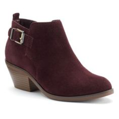 SONOMA Goods for Life Women's Suede Ankle Boots