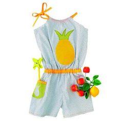 Kit couture combishort en coton enfant Playa - Picmoici Coumoiça - Marie Claire Idées
