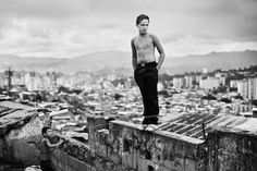 Young boy in Caracas, taken from Capitolio.