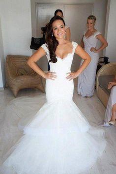 Simples riqueza: Vestido de Noiva Tipo Sereia