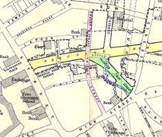 A very old map of the streets of Birmingham UK Birmingham England, Old Maps, Yesterday And Today, My Town, England Uk, Vintage Ephemera, Best Cities, Historical Photos, Family History