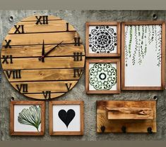 Decor, Clock, Wall, Home Decor, Wall Clock