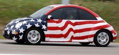 American flag bug
