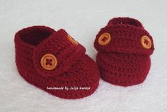 Crocheted baby shoes, baby crochet shoes, shoes for baby, baby booties, handmade baby shoes, gift for baby, newborn booties, cute baby shoes by HandmadebyjuliakLV on Etsy