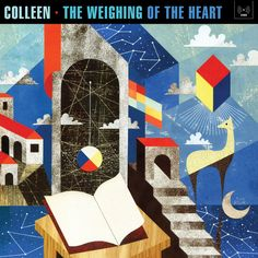 Colleen: The Weighing Of The Heart (Second Language, 2013); designed by Iker Spozio