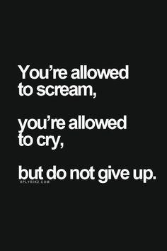 Never ever give up. #SheSpeaksUnboxed