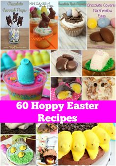 60 of the BEST Easter recipes | Easter | holidays | baking | cooking | holiday treats | easter baking ideas