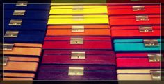 #Summer #colors on #leather! #case  #CepiPelletterie