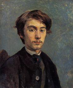 Emile Bernard, 1885  Henri de Toulouse-Lautrec