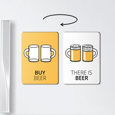 Double-sided reminder fridge magnet. A convenient and cool way of leaving a reminder to your beloved one. The first, contrast side of the fridge