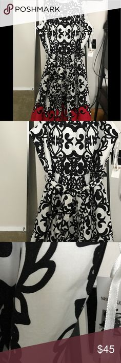 NWT Madison Leigh Halter dress Wow is all I can say, it is gorgeous! Madison Leigh Dresses Maxi