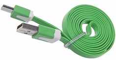 "myLife Light Shamrock Green {Bright Tangle-Free Noodle Design} 6' Feet (1.8 Meter) Quick Charge USB 2.0 Micro USB to USB Data Sync Cord for Phones, Cameras, Tablets and GPS Devices ""SEE COMPATIBILITY"" (Durable Rubber Coat) myLife Brand Products http://www.amazon.com/dp/B00NY37PO4/ref=cm_sw_r_pi_dp_309tub0WGAFNM"
