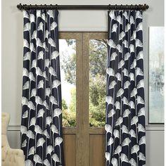 Found it at Joss & Main - Marley Fern Pinch Pleat Single Curtain Panel