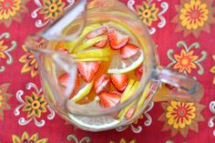 Luscious White Sangria - A Dash of Soul