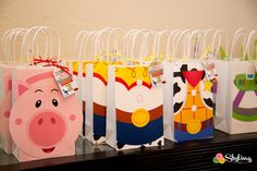 Favor Sacks from a Toy Story Themed Birthday Party via Kara's Party Ideas | The Place for All Things Party! KarasPartyIdeas.com (28)
