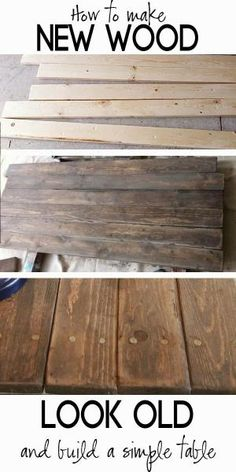 How to Build a Rustic Sofa Table. This table is way more stable than the one I made years ago. by emma-q