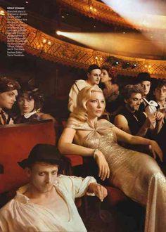 Cate Blanchett by Annie Leibovitz for Vogue US (December 2009).