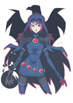 Raven Rebirth by LucianoVecchio on DeviantArt