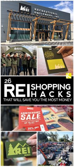 REI Shopping Hacks You Can't Live Without You don't want to miss these REI shopping hacks. Here are 26 insider tips to get more loot for less.You don't want to miss these REI shopping hacks. Here are 26 insider tips to get more loot for less. Store Hacks, Shopping Hacks, Rei Store, Camping Games, Camping Life, Family Camping, Frugal Living Tips, Financial Success, Anniversary Sale