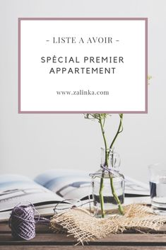 Liste premier appartement I propose a list of things to have (printable PDF) when you go to household or move. First Apartment List, Apartment Needs, Home Panel, Ikea, Flylady, Cool Apartments, First Home, Sweet Home, About Me Blog