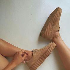 Tan colored #sneakers