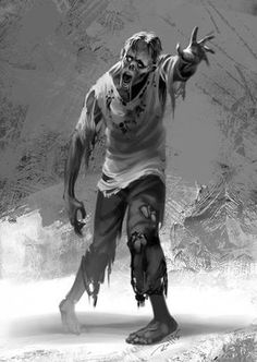 zombie by ChrisRallis on DeviantArt Zombie Pose, Zombie Art, Dead Zombie, Penguin Books, Zombie Clothes, Apocalypse Art, Zombie Apocolypse, Horror Artwork, Zombie Attack