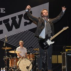 Gavin Maguire and Colin MacDonald of the Trews, Beach BBQ and Brews Festival, Woodbine Park, Toronto, ON, June 18/15. Taken by Karen McDonnell.